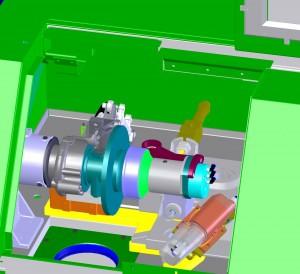 VSR CAD drawing of main balancing mechanism