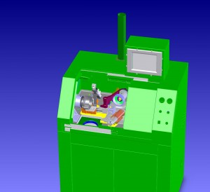VSR 400 balancing machine (CAD drawing)