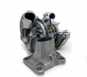 Variable-vane turbo cutaway